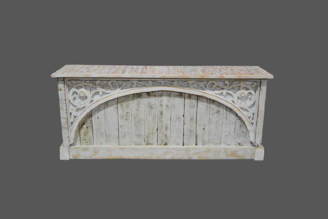 """Architectural Store Counter 35 1/2""""H,   82 3/4""""L,   21"""