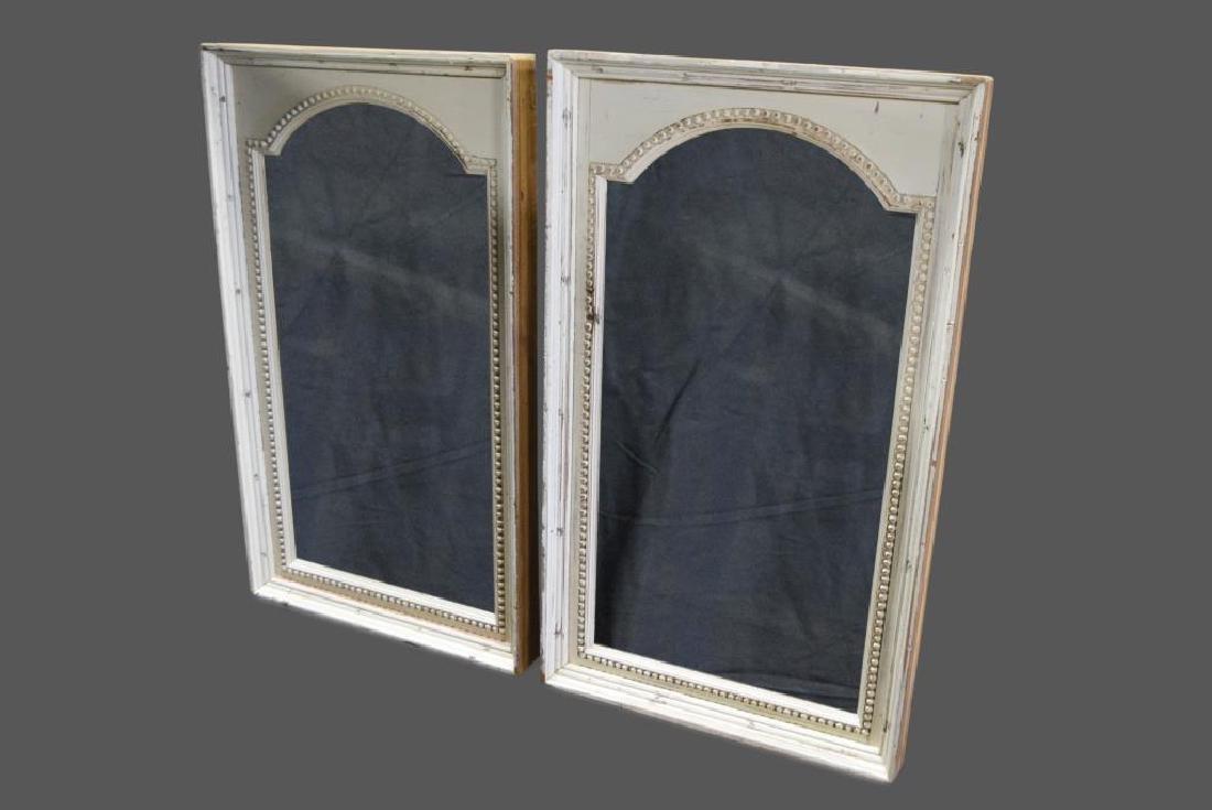 "French Architectural Mirror X-2 42 3/4""  x   25 1/4"""