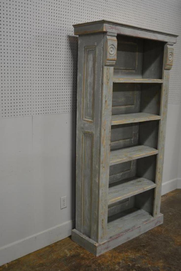 """Painted Country Store Display Shelf 79 1/4""""H,   40 - 2"""