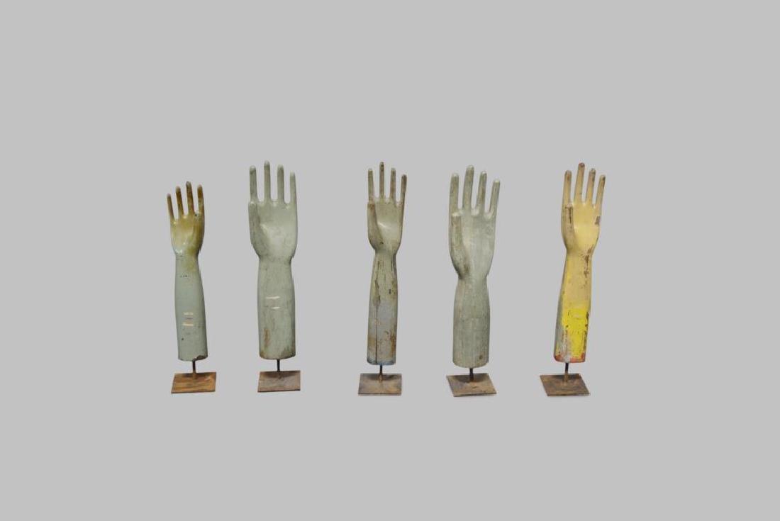 Wooden Glove Mold X-5