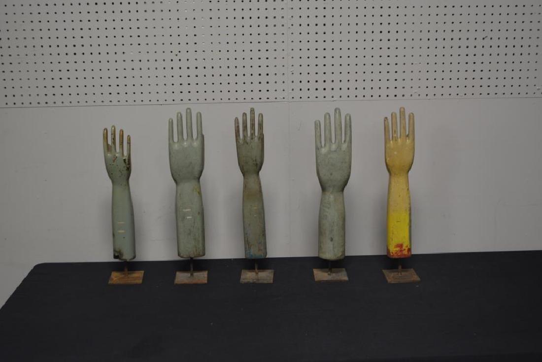 Wooden Glove Mold X-5 - 2