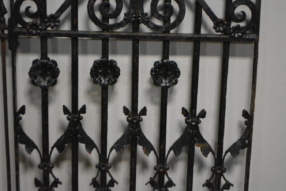 """Iron Gate from New Orleans 53 1/2""""  x   34 1/4"""" - 4"""