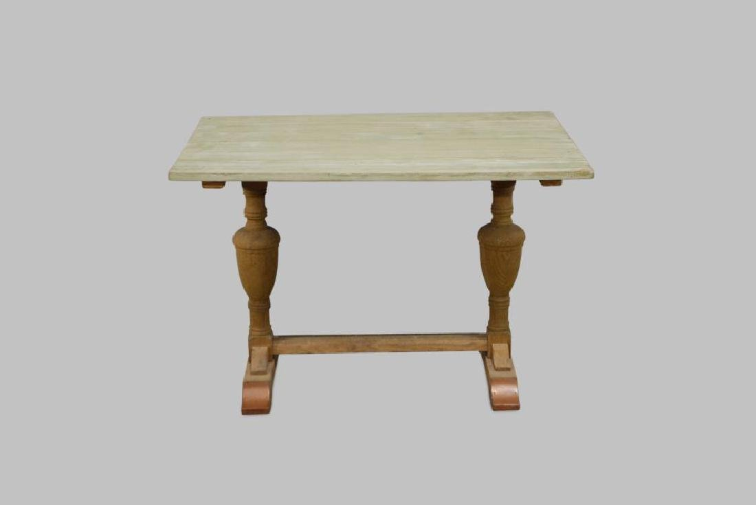 "French Trestle Table 29 1/4""H,   43 1/4""L,   27 1/2""W"
