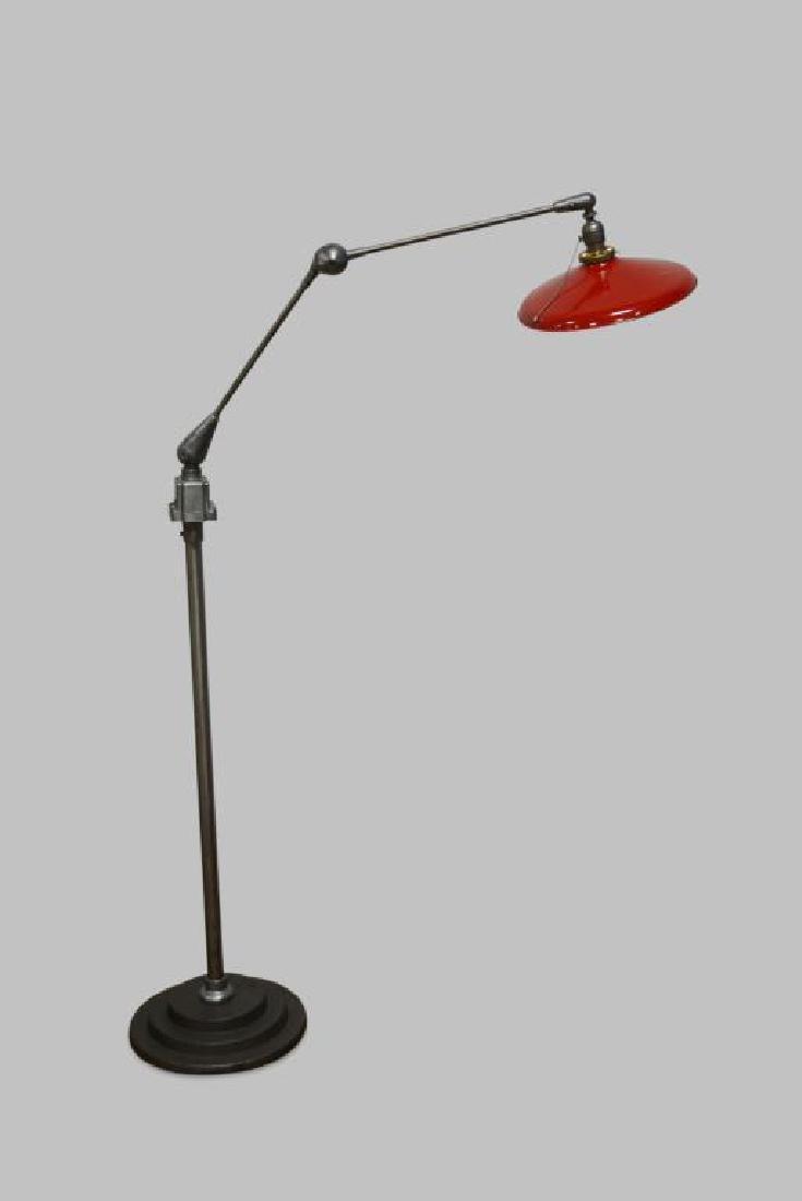"Industrial Floor Lamp 62""H"