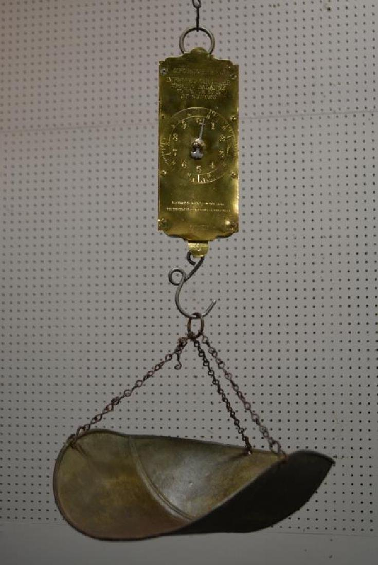 2pc. Lot of General Store Hanging Scales - 2