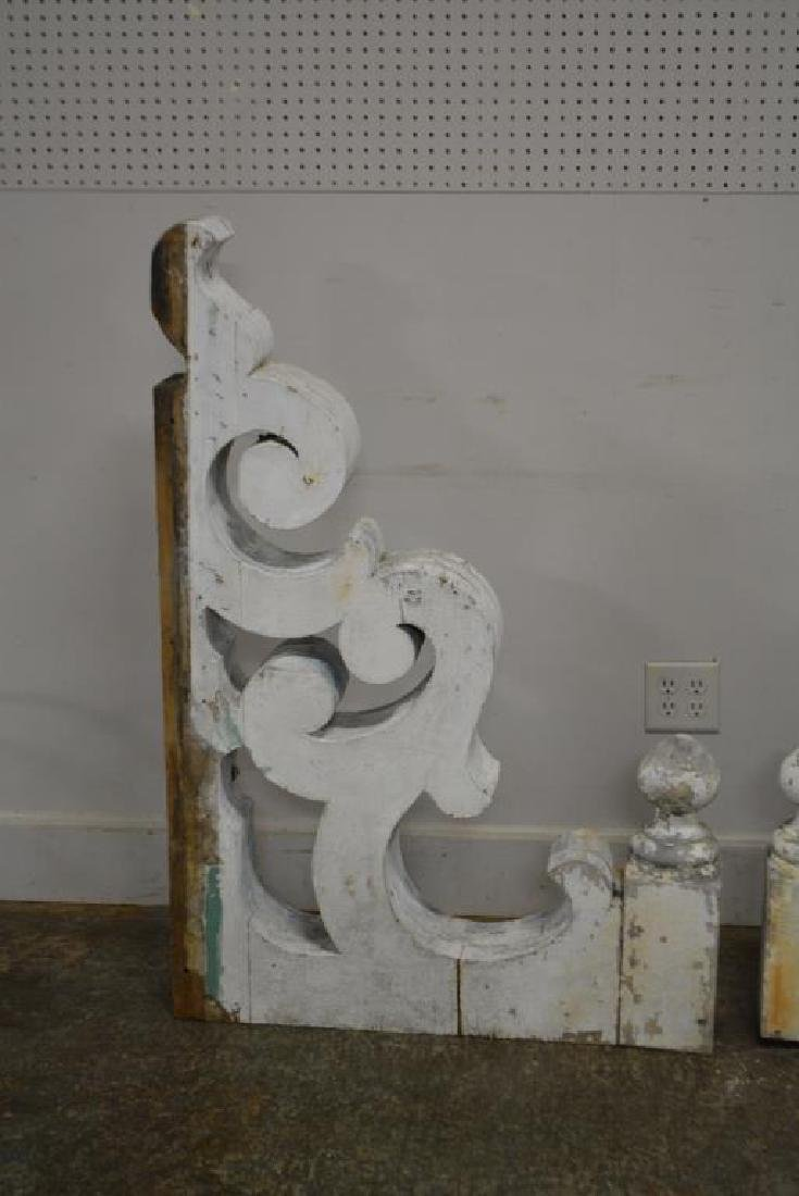 "Painted Architectural Corbel X-2 48 1/2""  x   32 3/4"" - 2"