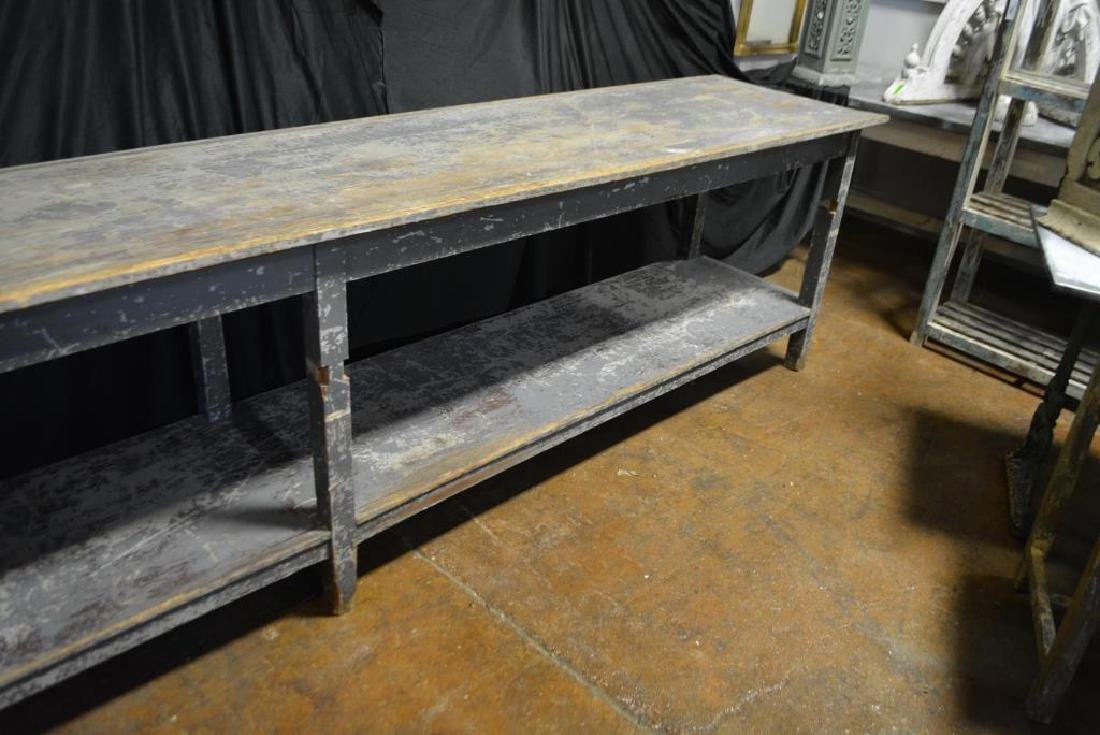 French Painted Work Table - 3