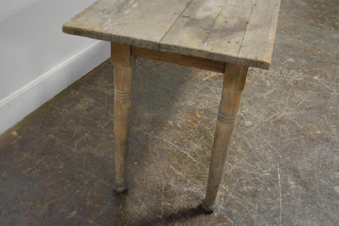 "Pa. Farm Table 31""H,   150 1/2""L,   21 3/4""W - 4"