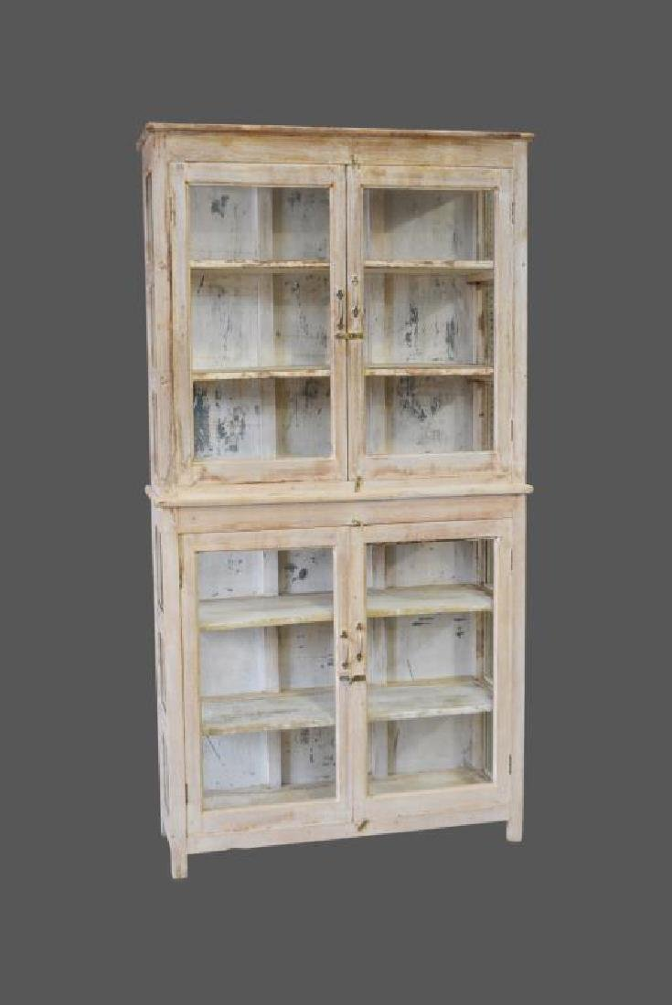 """One Piece Store Display Cabinet 88 1/2""""H,   46 1/2""""L,"""