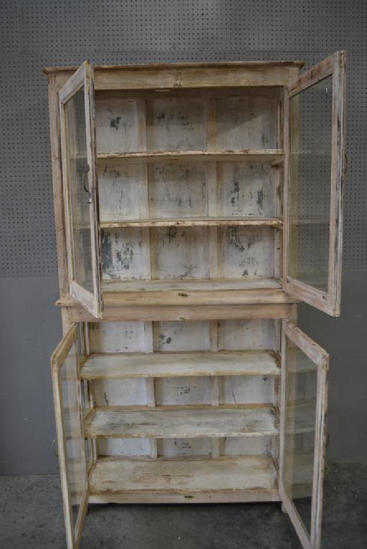 """One Piece Store Display Cabinet 88 1/2""""H,   46 1/2""""L, - 2"""