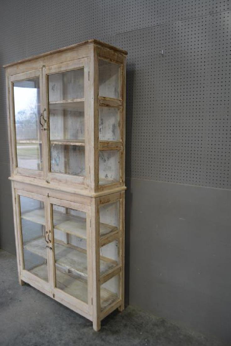 """One Piece Store Display Cabinet 88 1/2""""H,   46 1/2""""L, - 3"""