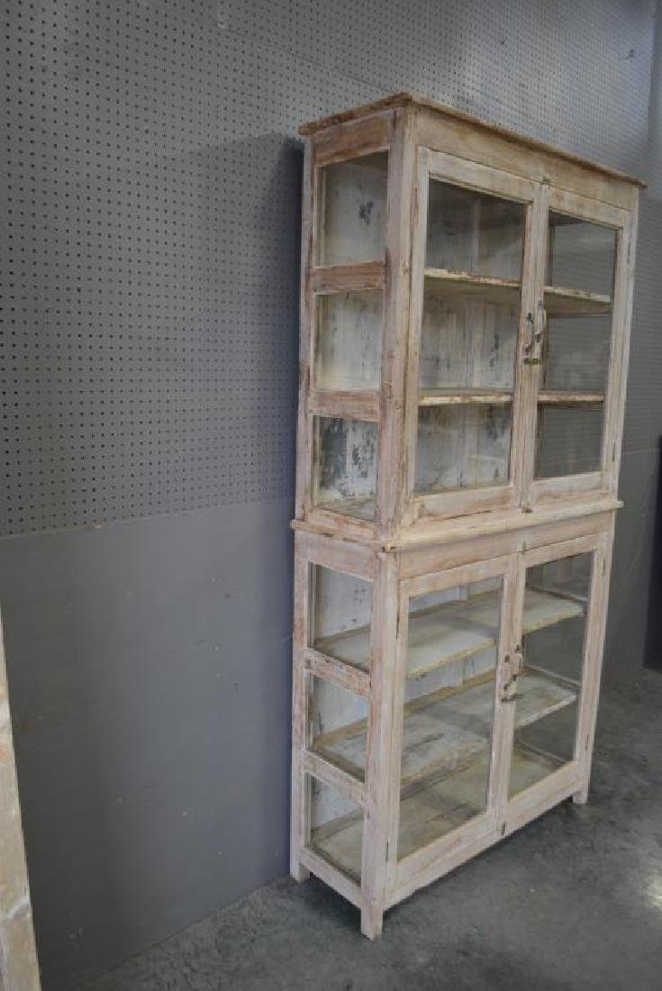 """One Piece Store Display Cabinet 88 1/2""""H,   46 1/2""""L, - 4"""