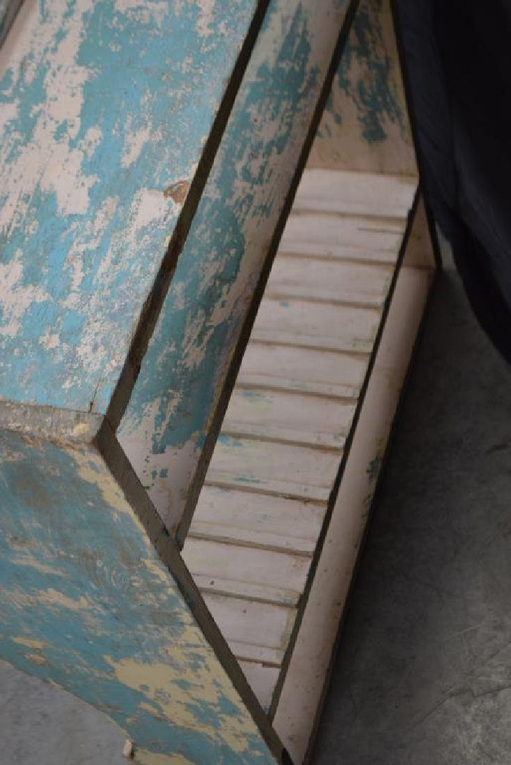 """Painted Plate Rack 29""""H,   27""""L    12""""W - 3"""