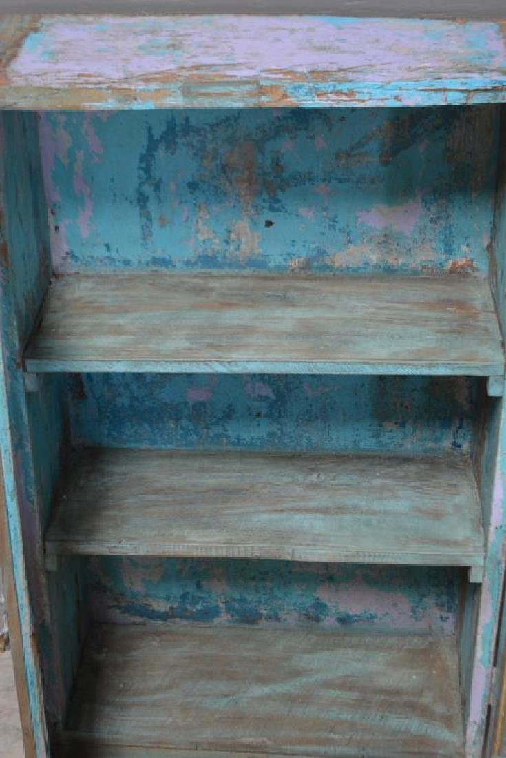 """Painted Cupboard 43""""H,   25""""  x   11"""" - 2"""