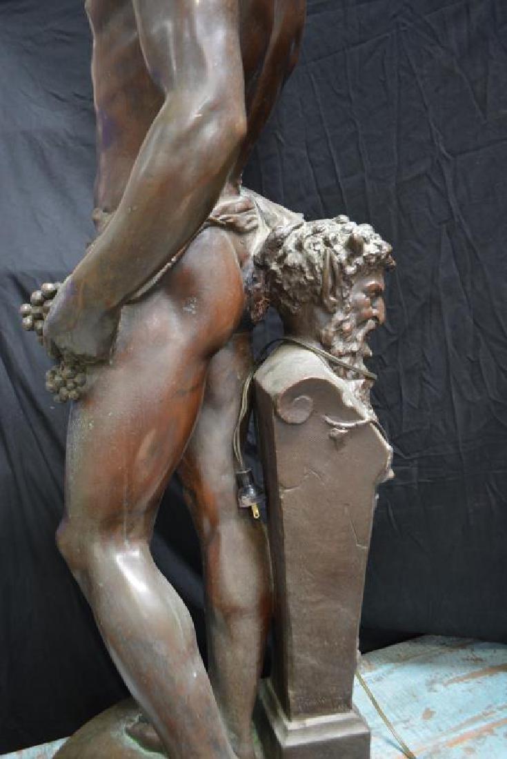 "Statue 48""H,   27""  x   16 1/2"" - 4"