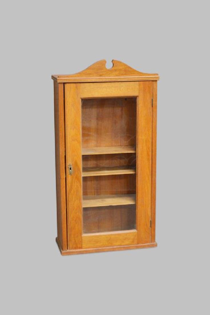 "Oak Medicine Cabinet 33""H,   17 1/4""   x   7  1/4"""