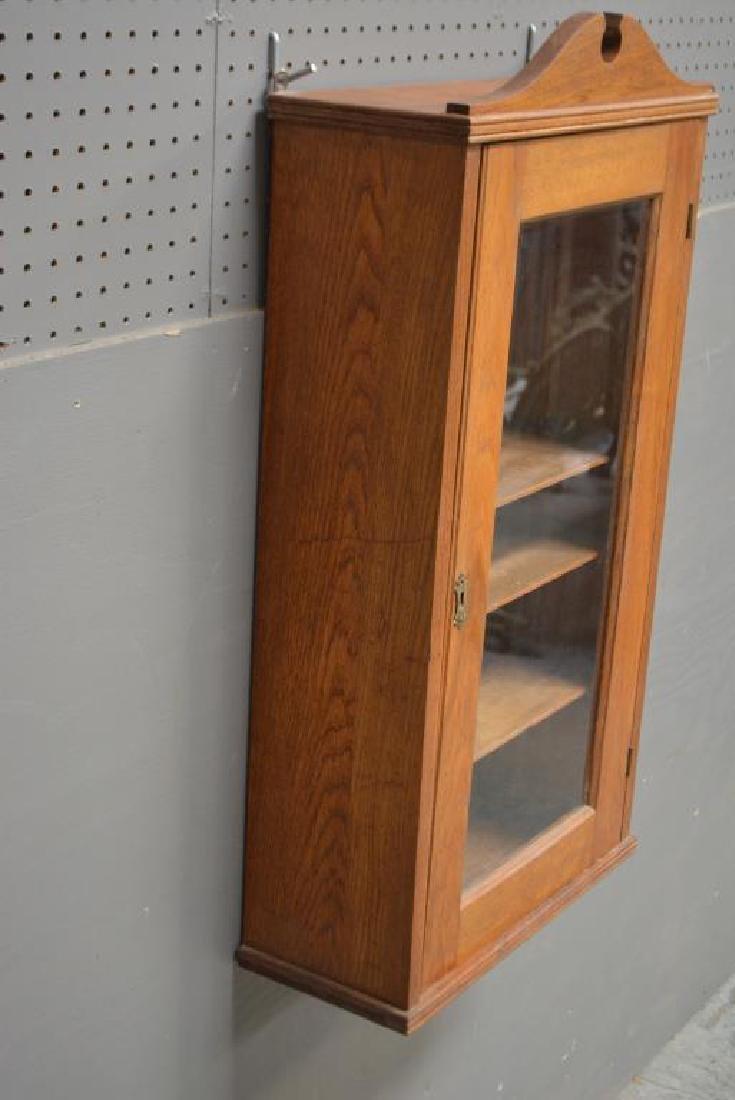 "Oak Medicine Cabinet 33""H,   17 1/4""   x   7  1/4"" - 2"
