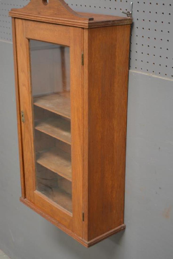 "Oak Medicine Cabinet 33""H,   17 1/4""   x   7  1/4"" - 3"