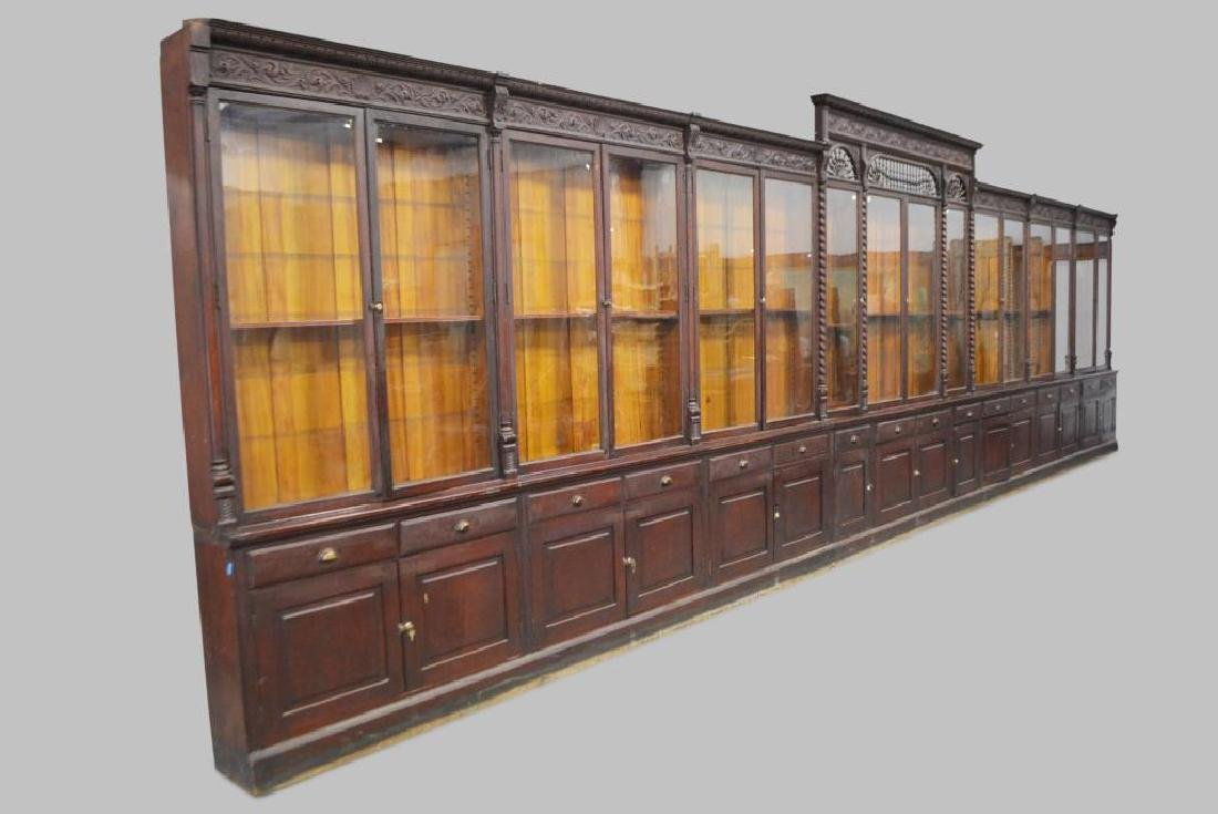 "Wonderful Drug Store Apothecary Unit 113 1/4""H,   32"