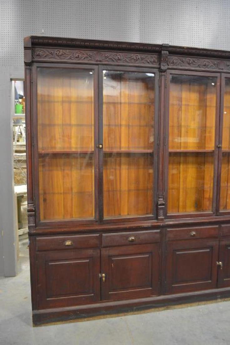 "Wonderful Drug Store Apothecary Unit 113 1/4""H,   32 - 2"