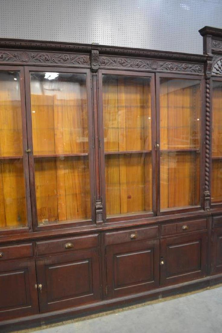 "Wonderful Drug Store Apothecary Unit 113 1/4""H,   32 - 3"