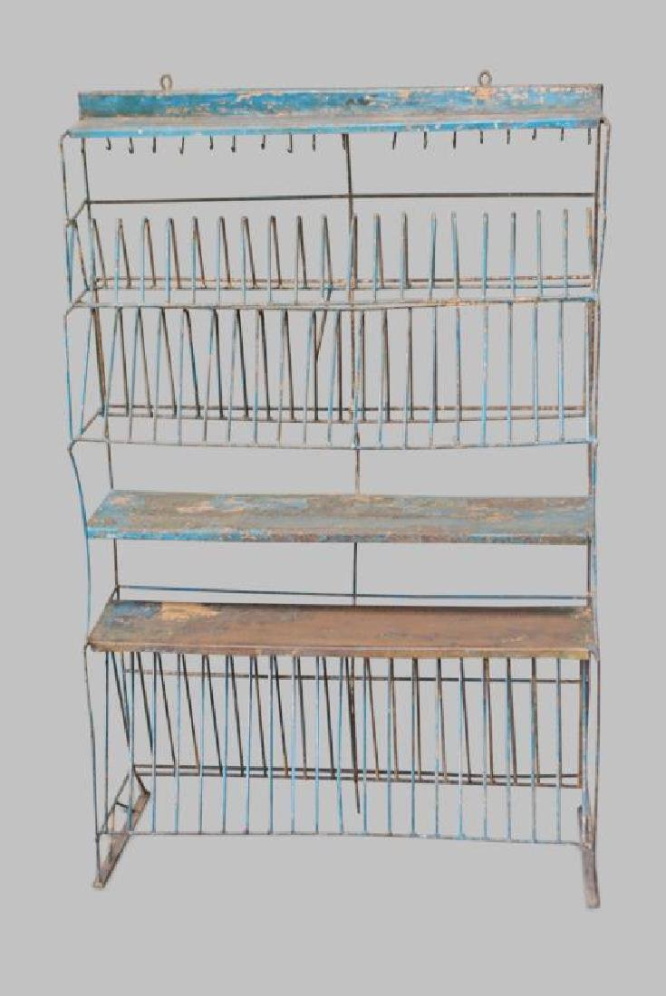 "French Metal Kitchen Rack 55 3/4""H,   35 1/2""L,   13"