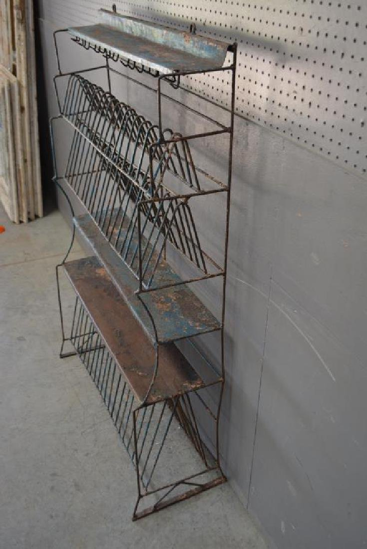 "French Metal Kitchen Rack 55 3/4""H,   35 1/2""L,   13 - 3"