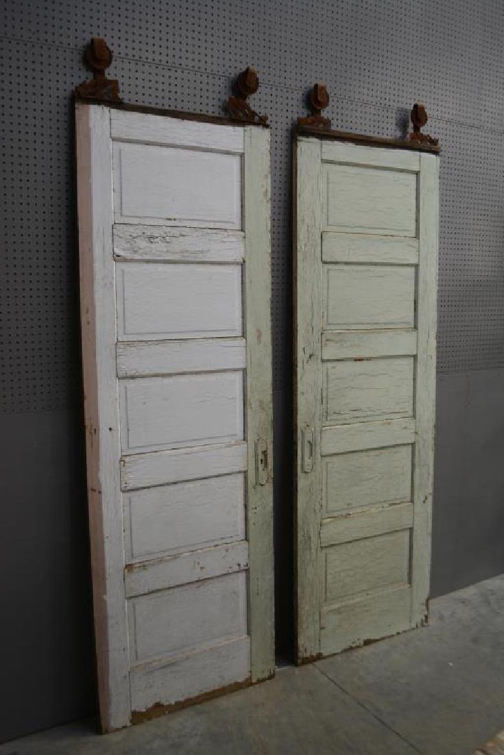 """Painted Barn Door X-2 97 1/2""""  x   30 1/4""""      ea. - 2"""