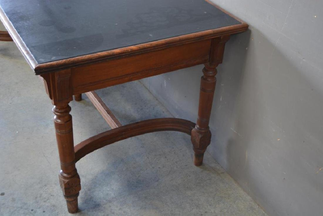 "Library Table 31 1/4""H,   72""L,   34 1/4""W - 3"