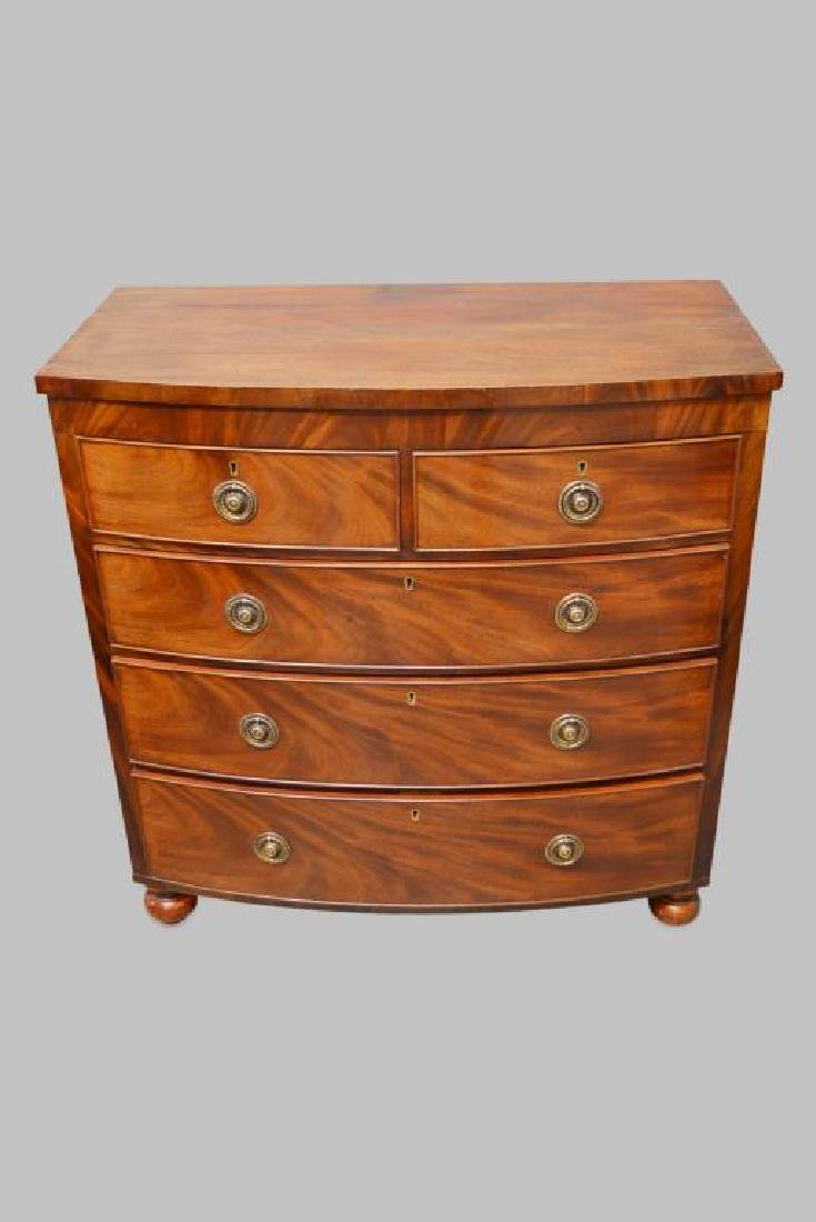 """English Chest of Drawers 41 1/4""""H,   40 3/4""""L,   21"""