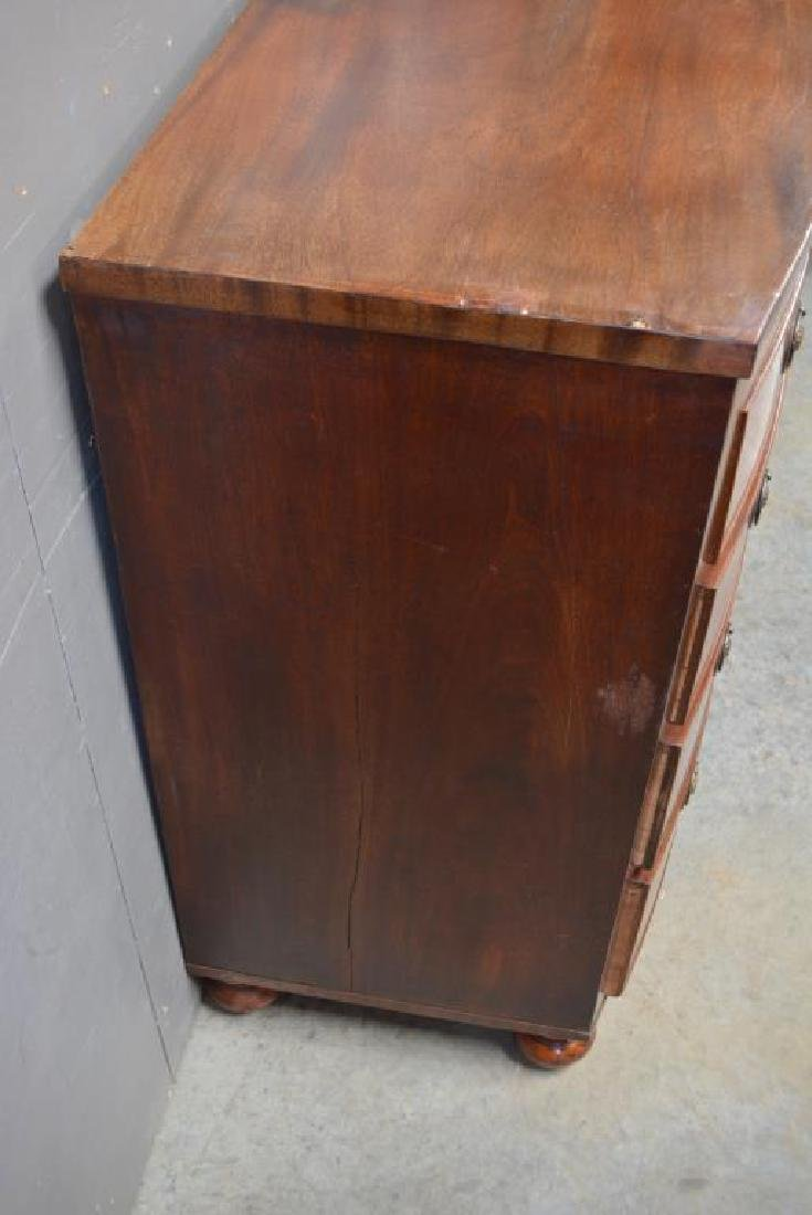 """English Chest of Drawers 41 1/4""""H,   40 3/4""""L,   21 - 2"""