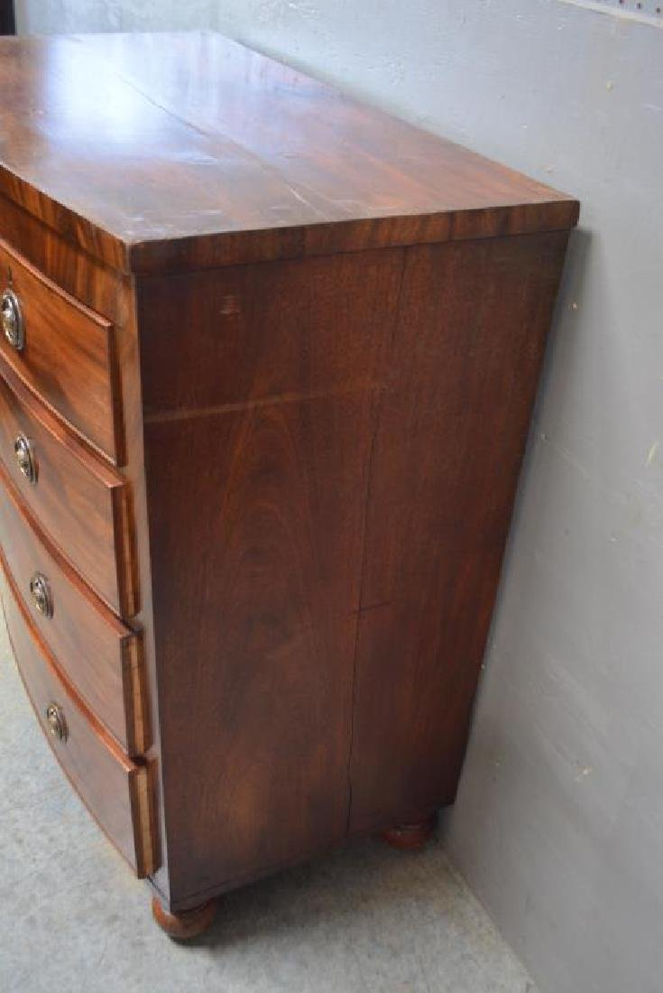"""English Chest of Drawers 41 1/4""""H,   40 3/4""""L,   21 - 3"""