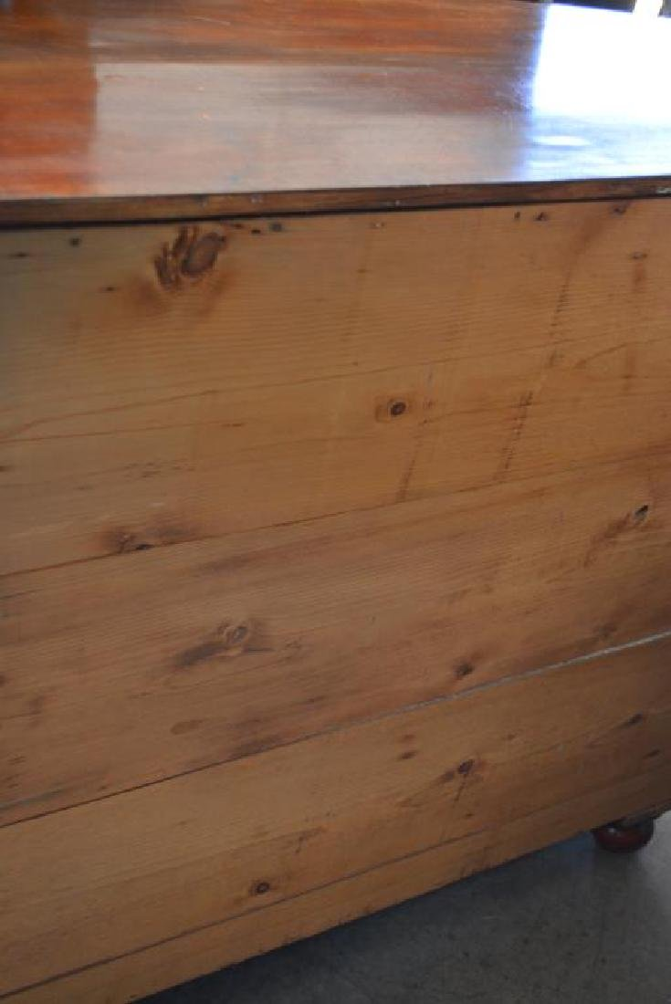 """English Chest of Drawers 41 1/4""""H,   40 3/4""""L,   21 - 4"""