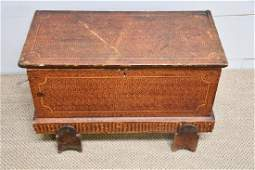 Pa. Paint Decorated Blanket Box *from Harriette Gorman
