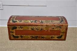 Paint Decorated Blanket Box *from Harriette Gorman