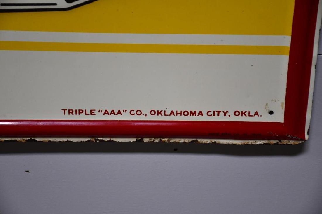 "Metal Triple AAA Root beer Sign 32""  x   56"" - 2"