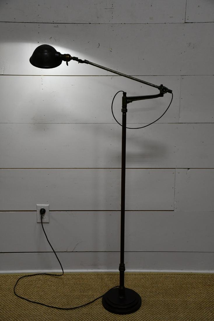 "Industrial Floor Lamp 58 3/4""H"