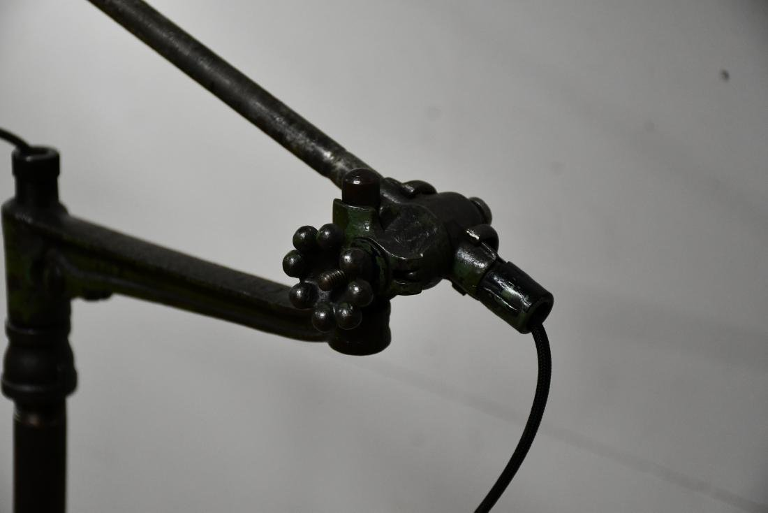"Industrial Floor Lamp 58 3/4""H - 2"