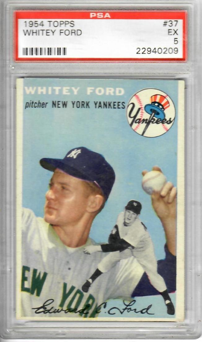 1954 TOPPS Whitey Ford Baseball Card