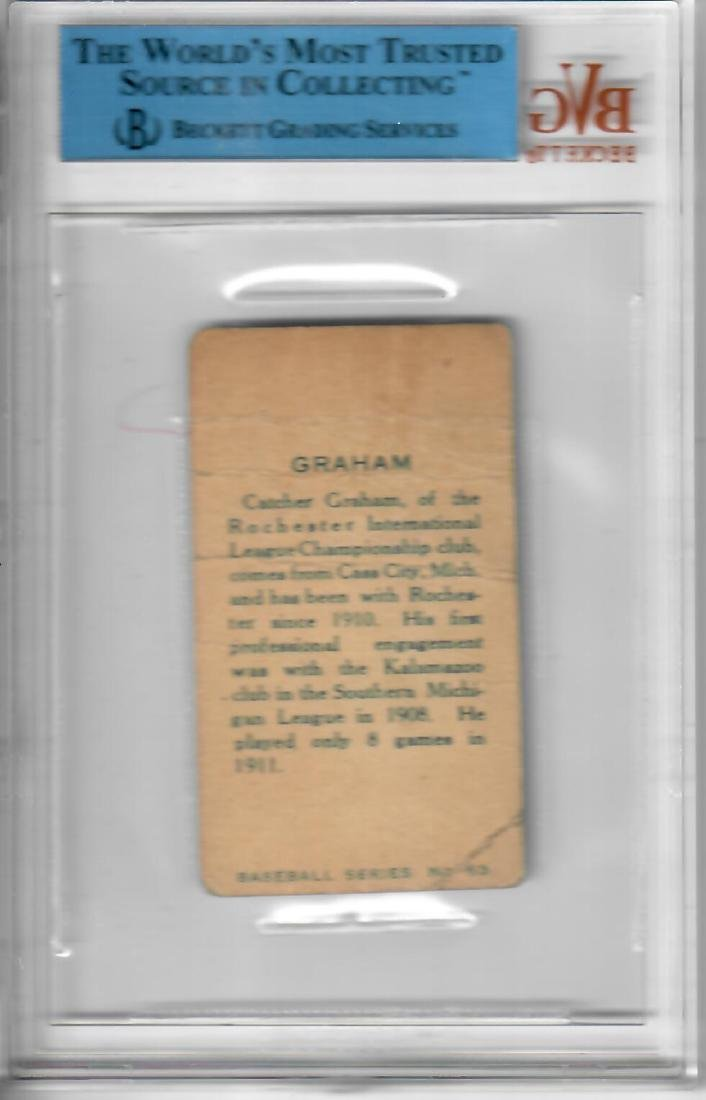 1912 Imperial Tobacco George Graham Baseball Card - 2