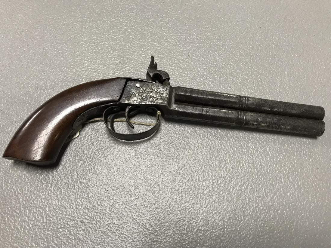 Early Doublle Barrel Pistol