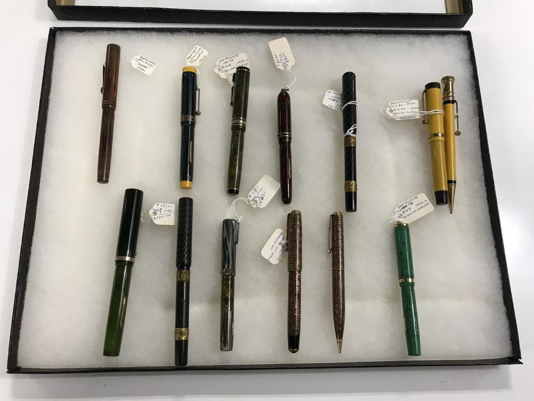Group Lot Vintage Fountain Pens