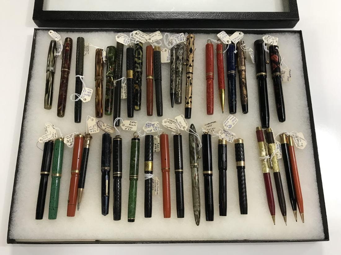 Group Lot Vintage Fountain Pens