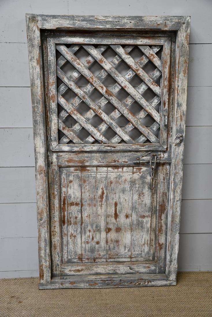"""Architectural Lattice Door 77""""  x   41 1/2"""""""