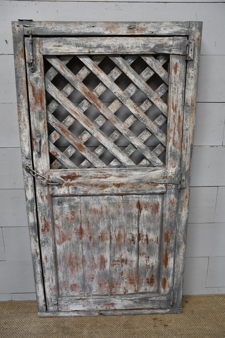 """Architectural Lattice Door 77""""  x   41 1/2"""" - 2"""