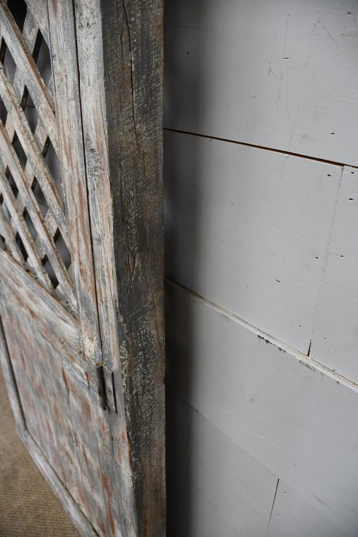 """Architectural Lattice Door 77""""  x   41 1/2"""" - 3"""