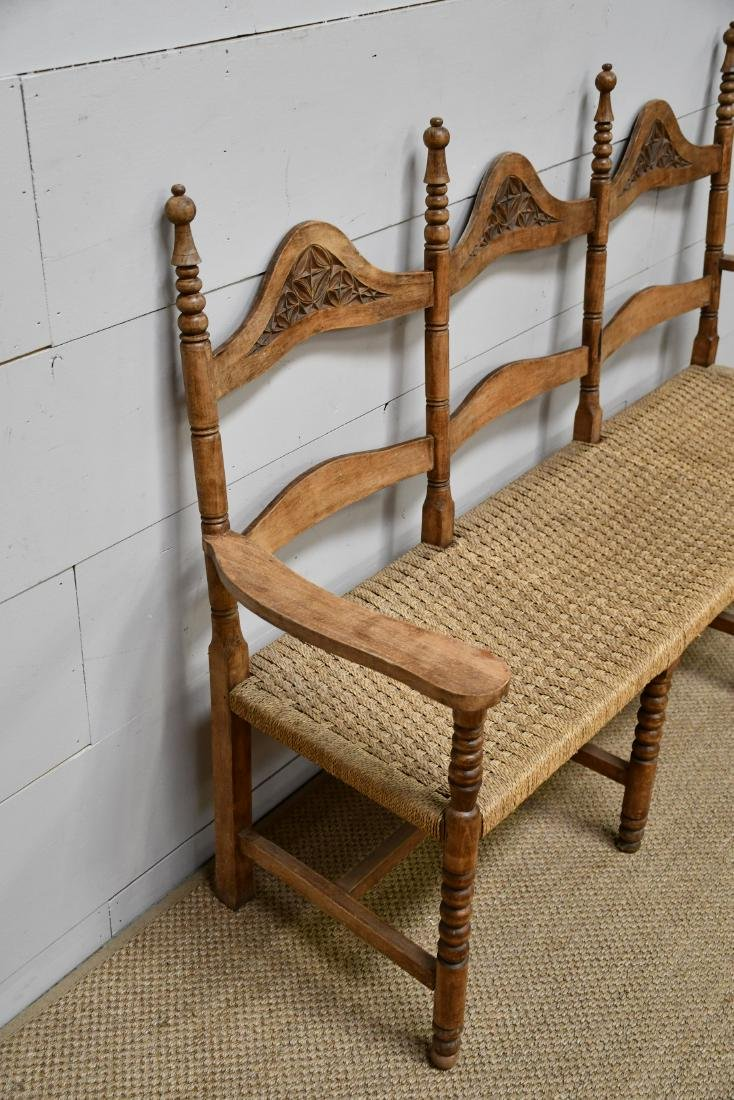 "Country French Settee 42 3/4""H,   67""L,   22 1/2""W - 2"