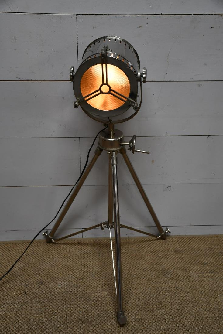"Industrial Tripod Light 46 1/2""H"
