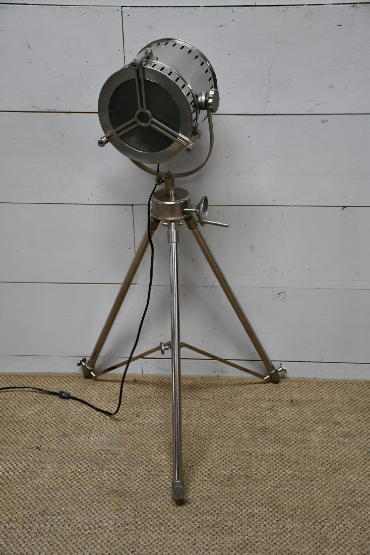 "Industrial Tripod Light 46 1/2""H - 2"