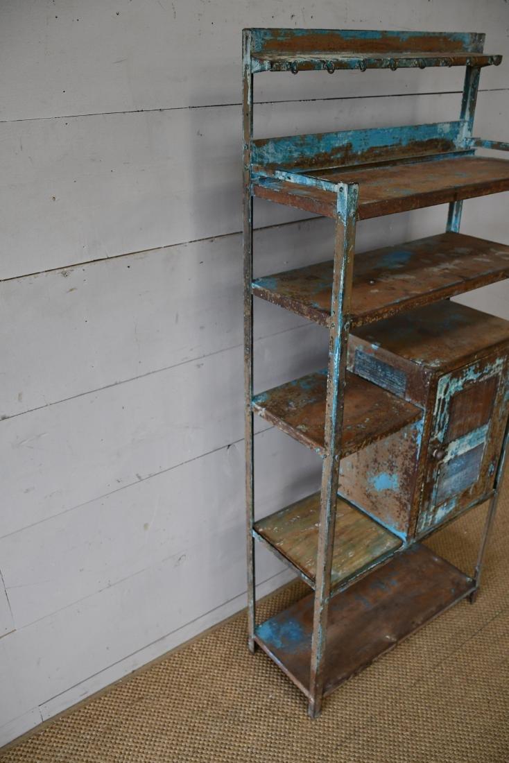 "Painted Metal Kitchen Rack 65""H,   28 1/4""  x   12""W - 2"